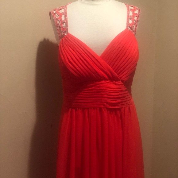 Betsy & Adam Dresses | Plus Size Prom Formal Party Bridesmaid Dress ...